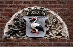 Gevelsteen met het wapen van Den Haag