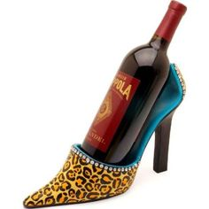 leopard print wine holders - Google Search