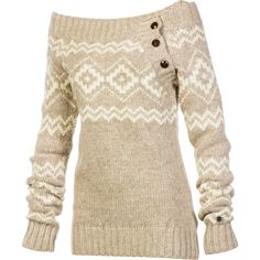 I like this sweater :)