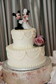 Disney's Wedding Pavilion Ceremony - Disney wedding cake