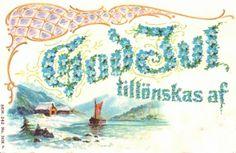 Via @ikfabriek  Danish card God Jul1910
