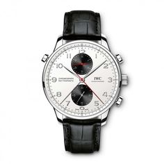 "IWC Schaffhausen Portugieser Chronograph Rattrapante Edition ""Boutique Canada"" (Ref. Latest Watches, Best Watches For Men, Fine Watches, Sport Watches, Cool Watches, Iwc, Breitling, Luxury Watches, Rolex Watches"