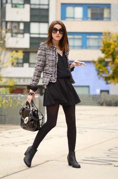 tweed in black - Lovely Pepa by Alexandra