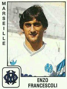Enzo Francescoli of Marseille & Uruguay in 1989.