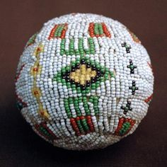 Image result for sioux beaded ball