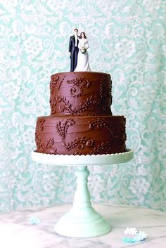 21 Wedding Cakes That Look So Delicious (NO Fondant!) You Might Try to Eat Your Computer