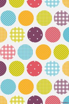 Colorful Polka Dot Backgrounds Colorful Dots Twitter Backgrounds