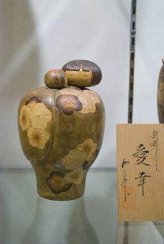 Kokeshi mother and child   by Otomodachi