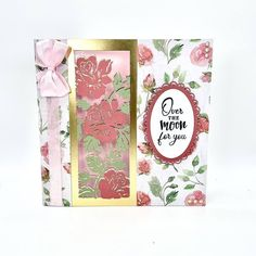 Create show-stopping designs with our fabulous Centrepiece Create-A-Card Dies! Project by Maggie Berry Crafters Companion Cards, Over The Moon, Berry, Centerpieces, June, Create, Projects, Inspiration, Design