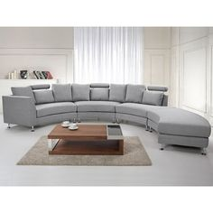 Oval Sectional Sofa 25 Contemporary Curved And Round Sectional Sofas, Furniture Luxury Curved Sectional Sofa For Living Room Furniture, Round And Curved Sofa With Original Accent Furniture The Modern, Round Sectional, Sectional Sofa Sale, Round Sofa, Fabric Sectional, Leather Sectional Sofas, Modern Sectional, Upholstered Sofa, Sofa Furniture, Sofa Design