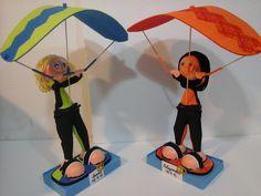 Muñecos Goma Eva. EXPIRUCHAS: Os gusta el skysurf?