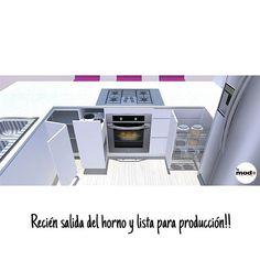 Hecho con Amor! ❤- Se las mostraremos en 1 mes!! #kitchenideas #kitchen #interiordesign #modmas