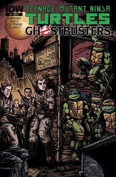 Teenage Mutant Ninja Turtles Ghostbusters Cover C Incentive Kevin Eastman Variant Cover Comic Character, Character Design, Ghostbusters 1, Tmnt Comics, Midtown Comics, Comic Book Covers, Comic Books, Marvel Vs, Cultura Pop