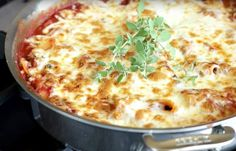 Good Food, Yummy Food, Everyday Food, Bon Appetit, Italian Recipes, Macaroni And Cheese, Main Dishes, Food And Drink, Pizza