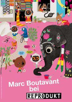 Marc Boutavant bei Reprodukt | Reprodukt