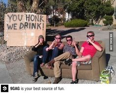 Hahaha! Where was this for all those bored summer days? Drinking game