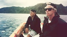 #kellyslater and #jonhjonhflorence heading to the peak!