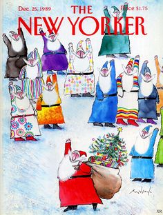1989 - New Yorker - Ronald Searle