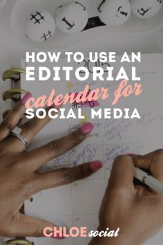 How to Use an Editorial Calendar for Social Media (+ A Free Calendar Printable) - Chloe Social Social Media Calendar, Social Media Site, Content Marketing Tools, Social Media Marketing, Business Marketing, Free Calendar, Calendar Printable, Blog Planning, Social Media Influencer