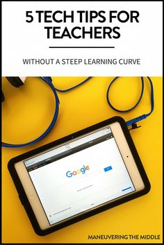 5 Technology Tools for the Classroom