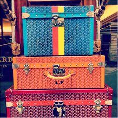 goyard luggage - Google Search