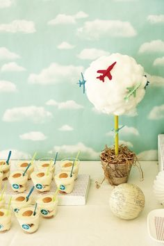 Take Off on a First Class Second Birthday Party