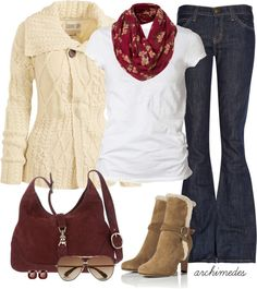 """Comfy, Cozy Autumn Days"" by archimedes16 ❤ liked on Polyvore"