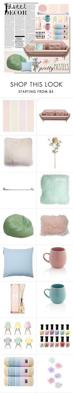 """Untitled #263"" by briannachrt ❤ liked on Polyvore featuring interior, interiors, interior design, home, home decor, interior decorating, Nicki Minaj, Benjamin Moore, UGG and Pillow Decor"