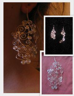 jewel/ handmade/ earrings/ 925 silver