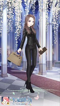Secret agent Kawaii Anime Girl, Anime Art Girl, Anime Oc, Manga Anime, Character Inspiration, Character Design, Nikki Love, Anime Dress, Drawing Clothes