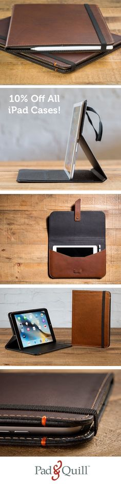 This week only, all of our handmade, artisan iPad Cases are 10% off.