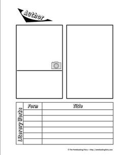 Author Notebooking Page
