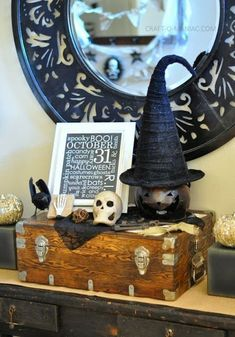 20 rustic halloween decor ideas - Rustic Halloween Decorations