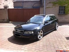 rs4 b5 avant with rs5 concave-wheels