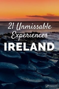 21 of The Very Best Things to do in Ireland The best things to do in Ireland. Unique ideas and popular classics like Kissing the Blarney Stone, Cliffs of Moher, Coasteering, Saltee and Aran Islands Travel Ireland Tips, Ireland Vacation, Europe Travel Tips, European Travel, Travel Guides, Travel Destinations, Budget Travel, Ireland Hiking, Ireland Destinations