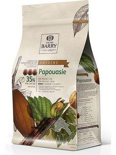 Papouasie Milk Chocolate Couverture Pistoles 1kg (35.8% cocoa) - Cacao Barry - Meilleur du Chef