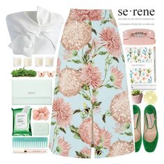 """""""SERENE"""" by kawrose02 ❤ liked on Polyvore featuring Roberto Festa, Warehouse, Chicwish, DKNY, Sephora Collection, Shabby Chic, Bottega Veneta and Accessorize"""