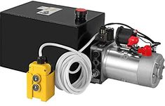 Dump Trailers, Power Unit, Hydraulic Pump, Utility Trailer, Acting, Home Improvement, The Unit, Pumps, Steel