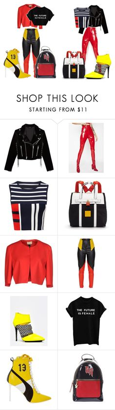 power by ingridlove593 on Polyvore featuring moda, The Kooples, Toy G., Puma, Red Kiss, Tommy Hilfiger and Henri Bendel