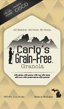 Carlo's Original Grain Free Granola 11oz