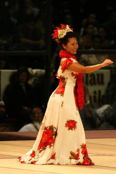 Miss Aloha Hula Contestant