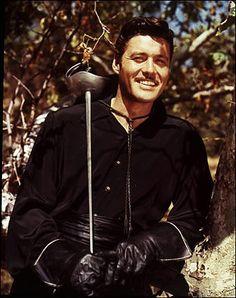 Guy Williams (Armando Joseph Catalano) (January 1924 - May American actor (Zorro, Lost in Space). Hollywood Stars, Classic Hollywood, Old Hollywood, Men In Black, Larry Wilcox, Walt Disney, Tarzan, Guy Williams Zorro, The Legend Of Zorro