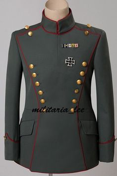 WW1 German M1915 Field Gray Royal Prussian Uhlan Regimemt Tunic All Sizes Military Inspired Fashion, Military Fashion, Military Dresses, Military Uniforms, Indian Wedding Clothes For Men, Army Costume, African Shirts For Men, African Print Dress Designs, Army Clothes