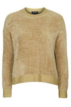 Soft Knit Textured Sweatshirt - Topshop