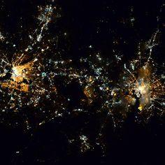 Baltimore reaching out toward Washington DC.  Photo Credit: Barry Wilmore.