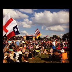 @ ACL Fest 2012 - so many countries