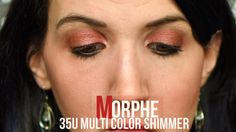 Morphe 35oS Color Shimmer Natural Glow Peach Strawberry Shimmer
