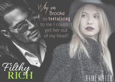 Dynasty Series, Filthy Rich, Book 1, Thats Not My, Rain, Movie Posters, Movies, Life, Rain Fall