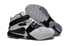 James Collection soldier 9 black and white-Air Jordan, Jordan Shoes,Discount Jordan Shoes On Sale