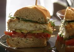 The Ultimate Filet O Fish Sammie recipe from Tyler's Ultimate via Food Network